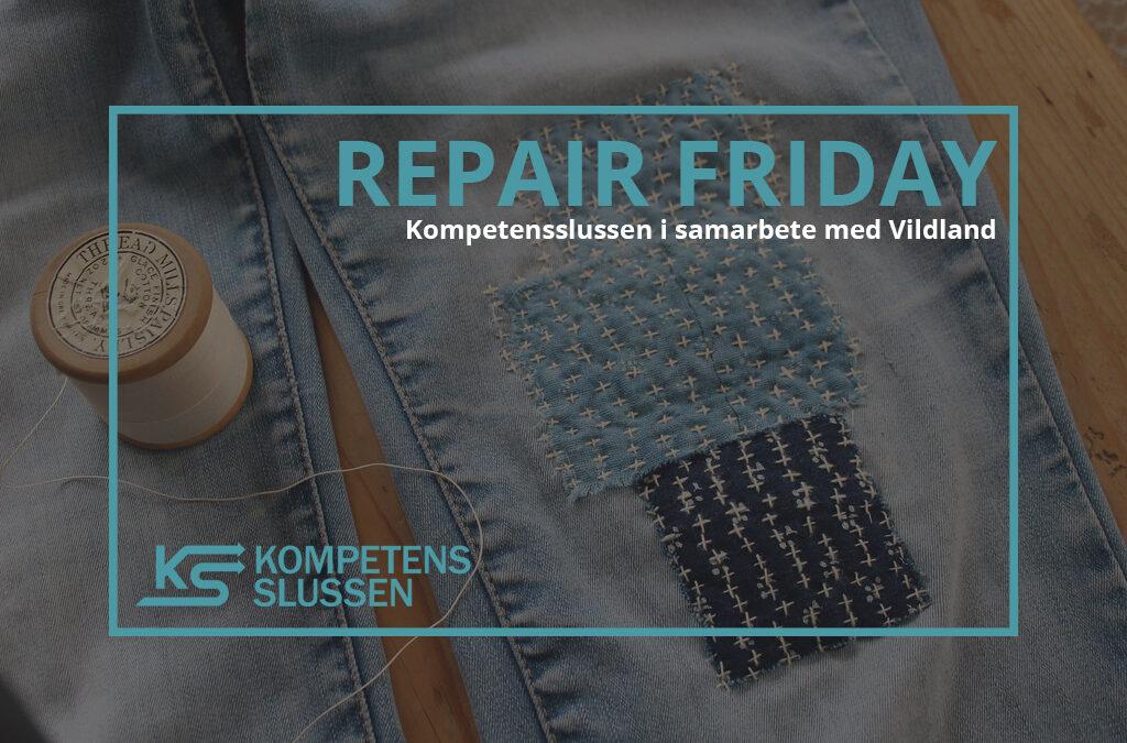 Repair Friday – Samarbete mellan Vildland och Kompetensslussen
